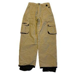 Ride Vintage Tan Snowboarding Pants - Men's Size Small